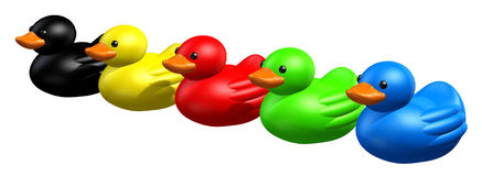 Patos ilustração do vetor