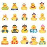 Patos de goma Imágenes de archivo libres de regalías