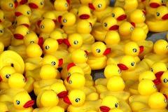 Patos de goma fotografía de archivo