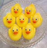 Patos de goma Foto de archivo
