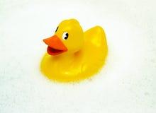 Patos de goma amarillos Fotografía de archivo libre de regalías