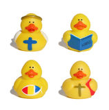 Patos del juguete Imagen de archivo
