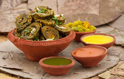 Patra Bhajiya Stockfotografie