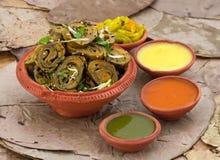 Patra Bhajiya Royalty Free Stock Photos