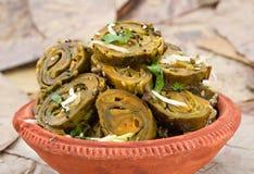 Patra Bhajiya Stock Image