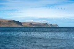 Patrekfjordur Image libre de droits