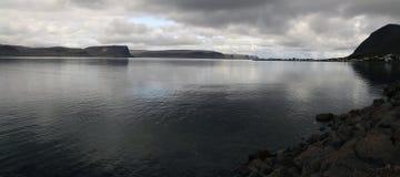 Patreksfjordur, Westfjords de Islândia Imagens de Stock Royalty Free