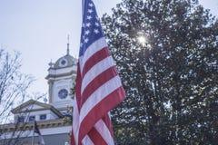 patriótico Foto de archivo