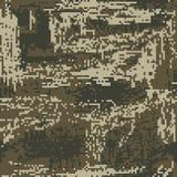 Patria protettiva del pixel di colorazione di verde del cammuffamento Vettore illustrazione di stock