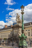 Patria statua - Brussel, Belgia, Europejski zjednoczenie Zdjęcia Stock