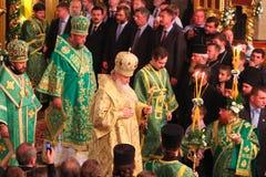 Patriarca de Moscú y de toda la Rusia Cyril foto de archivo libre de regalías