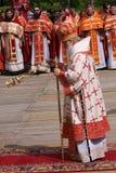 Patriarca de Moscovo e de toda a Rússia, Kirill Fotos de Stock