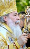 Patriarca di Theophilus III del ritratto di Gerusalemme Fotografia Stock