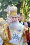 Patriarca di Theophilus III del ritratto di Gerusalemme Fotografia Stock Libera da Diritti