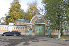 Patriarch Alexei II's residence in Peredelkino, Moscow Stock Image