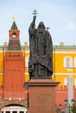 Patriarch Hermogenes monument in Moscow Royalty Free Stock Photo