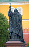 Patriarch Hermogenes monument in Moscow Royalty Free Stock Images