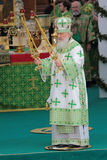 Patriarch Kirill of Moscow Stock Images