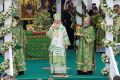 Patriarch Kirill of Moscow Stock Image