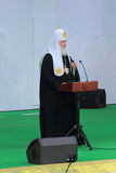 Patriarch Kirill of Moscow Stock Photography