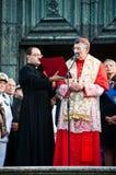 Patriarch Moraglia-Festa Del Redentore Lizenzfreies Stockfoto