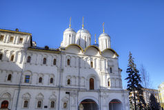 Patriarch Palace and Twelve Apostles Church. Royalty Free Stock Photos