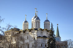 Patriarch Palace and Twelve Apostles Church. Royalty Free Stock Image