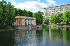 Patriarch's Ponds in Moscow Royalty Free Stock Photos