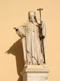 Patriarch statue Royalty Free Stock Photography