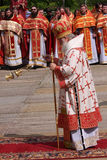 Patriarch van Moskou en Al Rusland, Kirill Stock Foto's