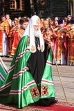 Patriarch van Moskou en Al Rusland, Kirill Stock Fotografie
