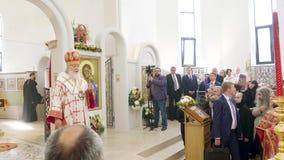 Patriarcha Kirill Moskwa i Wszystkie Rosja głowa rosyjski kościół prawosławny zdjęcie wideo