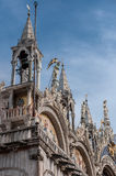 The Patriarchal Cathedral Basilica of Saint Mark Stock Photography