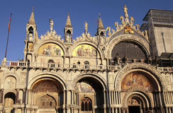 The Patriarchal Cathedral Basilica of Saint Mark,  Venice, Italy Royalty Free Stock Image