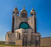 Patriarchal Cathedral of the Resurrection (Kiev, the Ukrainian G Royalty Free Stock Image
