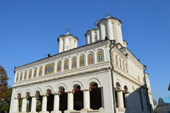 Patriarchal church  in bucharest Royalty Free Stock Photo