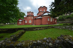 Patriarchate of Pec. Patriarchate of Peć (Serbian orthodox monastery Stock Photos