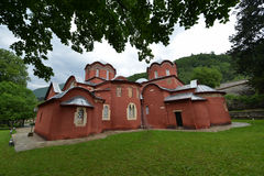 Patriarchate of Pec. Patriarchate of Peć (Serbian orthodox monastery Royalty Free Stock Photo