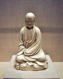 Patriarche Bodhidharma, arts chinois de Chan de bouddhisme Image stock