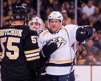 Patric Hornqvist, Nashville Predators. Nashville Predators forward Patric Hornqvist #27 Stock Image