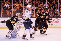 Patric Hornqvist, Nashville Predators. Nashville Predators forward Patric Hornqvist #27 Royalty Free Stock Photo