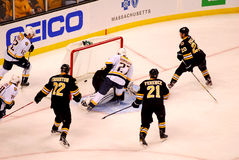 Patric Hornqvist Nashville Predators scores goal. Stock Photos