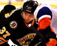 Patrice Bergeron Boston Bruins stock photo
