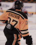 Patrice Bergeron Boston Bruins Lizenzfreies Stockfoto