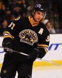 Patrice Bergeron, Boston Bruins Images libres de droits