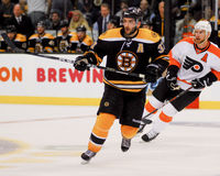 Patrice Bergeron, Boston Bruins Fotografia de Stock Royalty Free