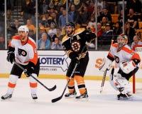 Patrice Bergeron, Boston Bruins Royalty-vrije Stock Foto's