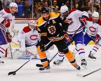Patrice Bergeron, Boston Bruins Fotos de Stock Royalty Free