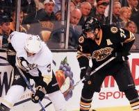 Patrice Bergeron, Boston Bruins Στοκ Εικόνα