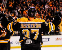 Patrice Bergeron Boston Bruins #37 Arkivbilder